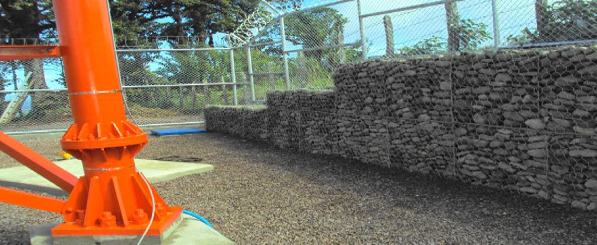 Lideres en construcción, venta e instalación en muros de gaviones!!